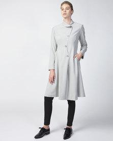 Smudj Vivienne Coat Slate