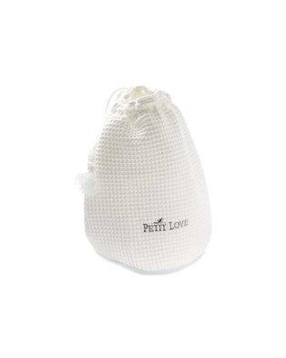 Petite Love Signature Grab 'n Go Pouch - White