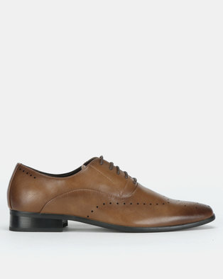 Franco Ceccato Baldini Formal Lace Up Shoes Brown