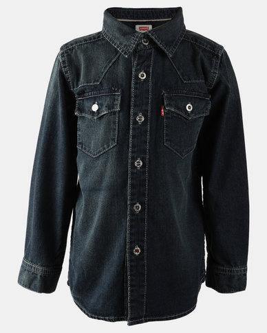 Barstow Western Shirt Blue