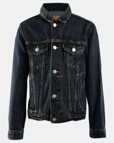 Denim Trucker Jacket Blue