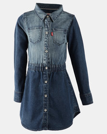 Levi's ® Denim Dress Blue