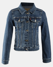 Denim Trucker Jacket Blue