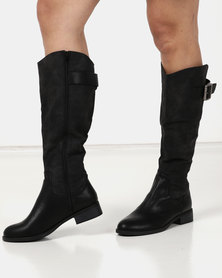 Gino Paoli Flat Rider Boot Black