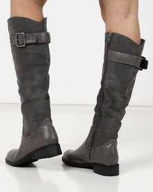 Gino Paoli Flat Rider Boot Grey