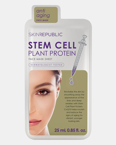 Skin Republic Stem Cell Plant Protein Face Mask