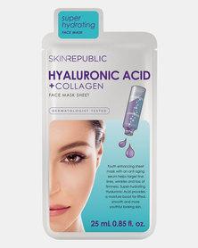 Skin Republic Hyaluronic Acid + Collagen Face Mask