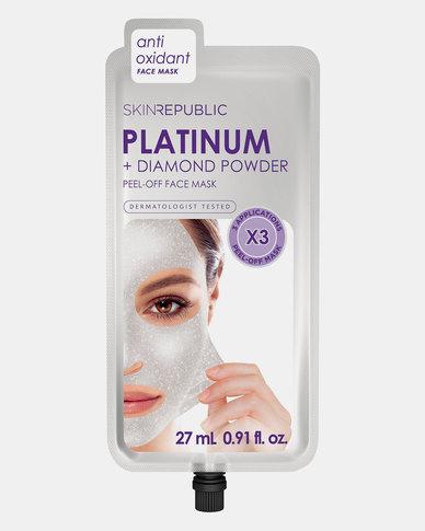 Skin Republic Platinum Peel-Off Face Mask (3 MASKS)