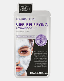Skin Republic Bubble Purifying + Charcoal Face Mask