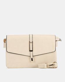 Bata Beige Shoulder Bag