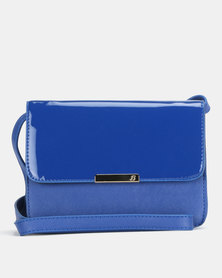 Bata Blue Mini Crossbody Bag