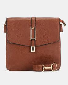 Bata Brown Sling Bag
