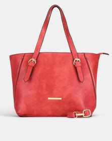 Bata Shopper Bag Red