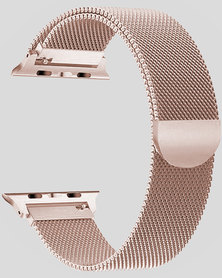 Gretmol Champagne Milanese Apple Watch Replacement Strap - 38MM