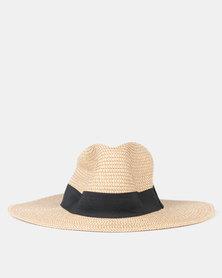 Urban Beach Durban Hat Tan/Ivory