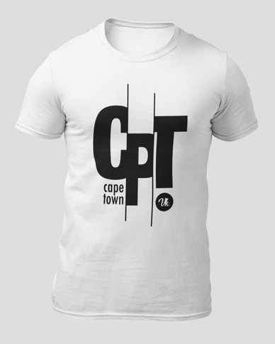 9e332bcec52d Vannie Kaap Cape Town Men's White T-shirt | Zando