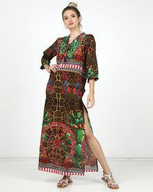 Antica Sartoria Shirt Dress Multi