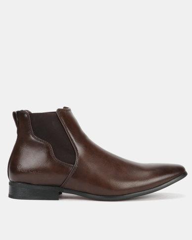 Pierre Cardin 00229 Boots Dark Brown