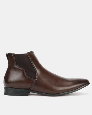 ad316f30 Pierre Cardin 00229 Boots Dark Brown
