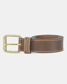 Urbanart Harley Leather Belt Brown