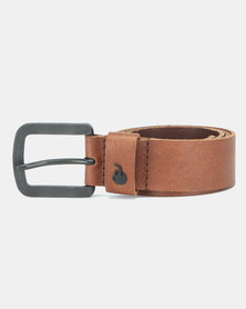 Urbanart Ezra Leather Belt Brown