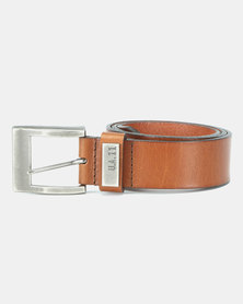 Urbanart Silas Leather Belt Tan