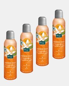 "Kneipp Shower Foam Orange Blossom & Jojoba ""Kissed Awake"" Set of 4"