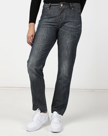 Only Stephanie Boyfriend Blue Jeans