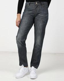 Only Stephanie Boyfriend Blue Jeans