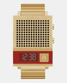 Nixon Dork Too Watch All Gold