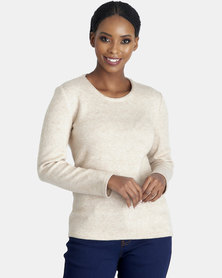 Contempo Natural Melange Knit Top