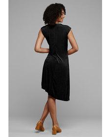 MARETH & COLLEEN Faye Dress Black Bijou