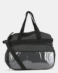 TotesBabe Vivir 20L Diaper Bag Black