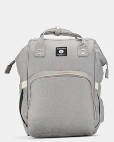 TotesBabe Alma 18L Diaper Backpack Grey
