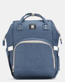 TotesBabe Alma 18L Diaper Backpack Navy