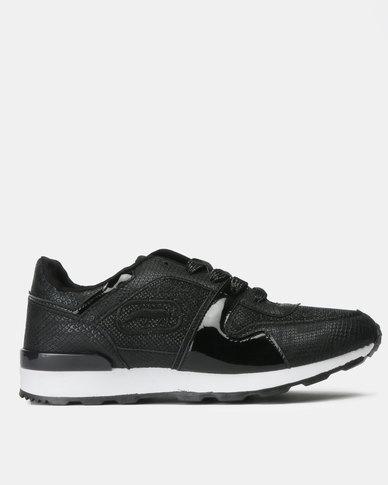 ECKÓ Unltd Lurex Combo Sneakers Black