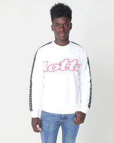 Lotto Athletica II Sweatshirt  RN PL White