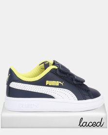 Puma Smash v2 L V Inf Peacoat Sneakers Blue