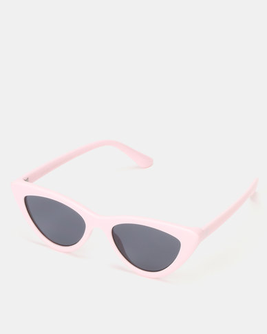 New Look Cat Eye Sunglasses Pink