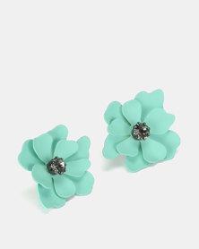 New Look lower Stud Earrings light blue
