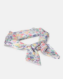 New Look Ditsy Floral Bandana Purple