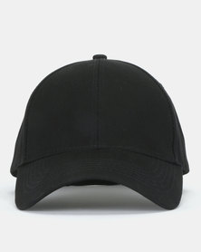 New Look Six Panel Cap Black