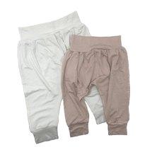 Petit Love Signature Harem Pants Set - Pink & White