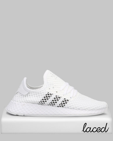 cheap website for discount detailed look adidas Originals Deerupt Runner Sneakers FTWWHT/CBLACK/GRETWO
