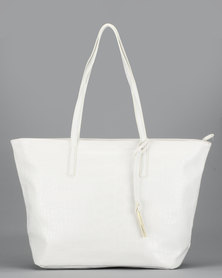 Bata Tote Bag White