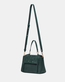Forever New Florence Zip Detail Bag Teal