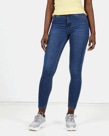 New Look Mid Blue Super Soft Super Skinny India Jeans