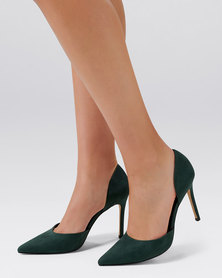Forever New Grace 2-Part Pointed Court Shoes Teal