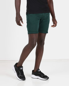 New Look Chino Shorts Teal