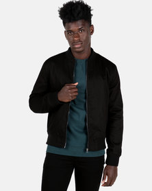 New Look Classic Bomber Jacket Black